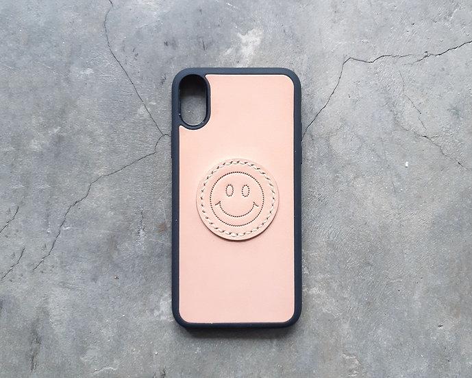 【好好縫】SMILE FACE iPhone手機殼|皮革D.I.Y材料包