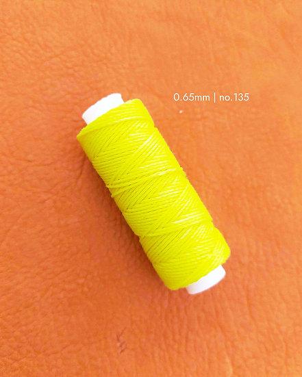 手縫圓蠟線 螢光系列 0.65mm