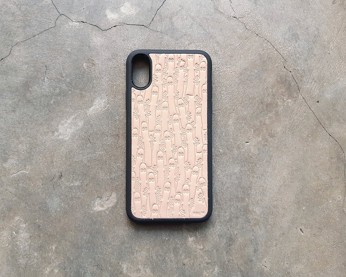 MOOMIN x 港產皮革|密舖樹精iPhone手機殼