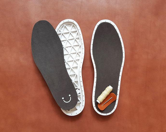 Loper|白色橡膠鞋底及針線套裝