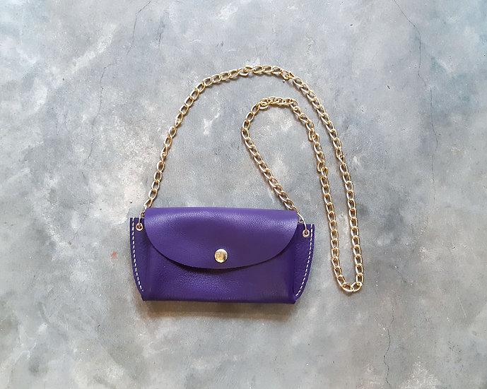 【好好縫】長銀包斜揹袋|皮革D.I.Y材料包
