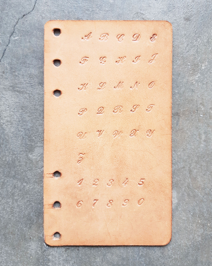 手壓字款B