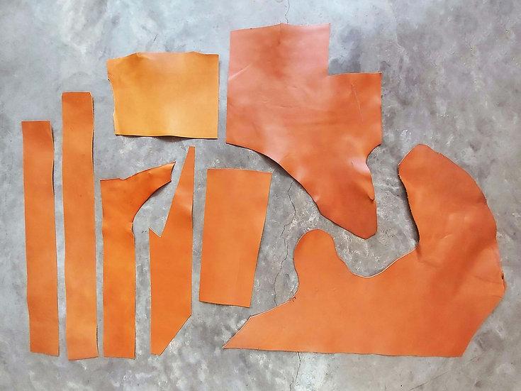 意大利植鞣牛皮塊 啡橙 TAN 1.0mm腩條