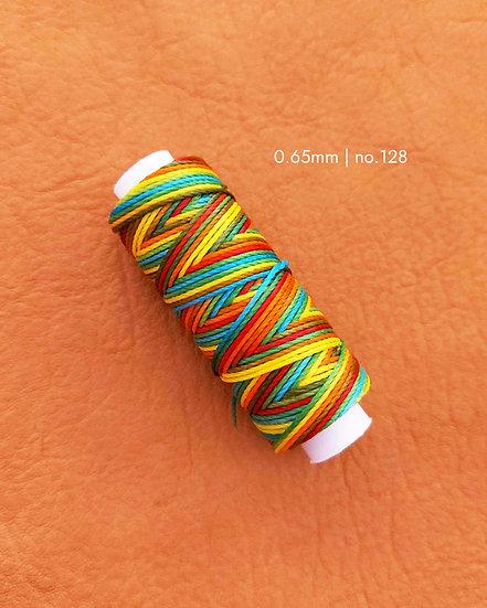 手縫圓蠟線 彩色 0.65mm