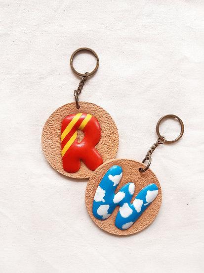 皮雕入門課程 立體字母匙扣 個別或小組教學