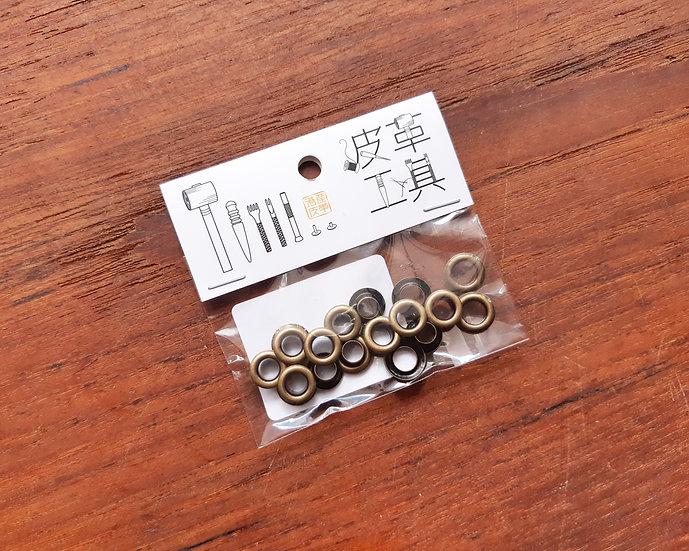 9mm 雞眼 (青古銅)