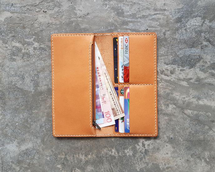 【好好縫】長銀包|皮革D.I.Y材料包