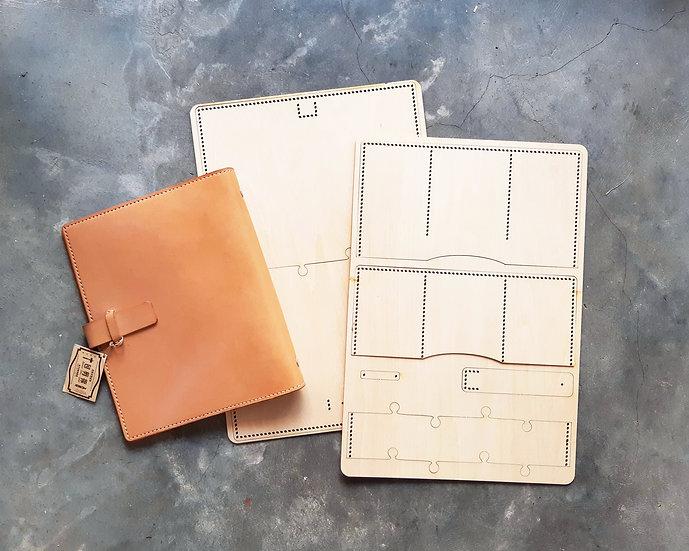 【包剪揼】A5書套/活頁筆記本|木板紙樣