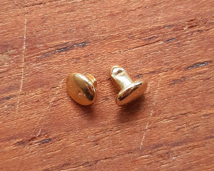 6mm 撞釘 (金色)