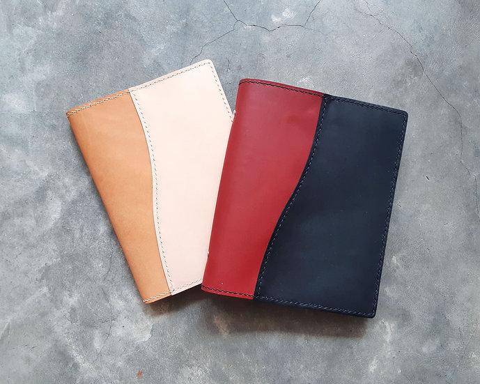 【好好縫】A5雙色書套|皮革D.I.Y材料包