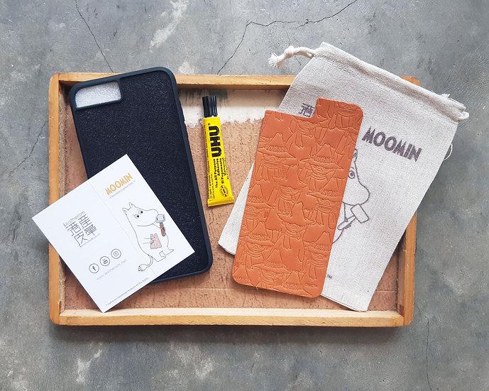 MOOMIN x 港產皮革 密舖史力奇iPhone手機殼