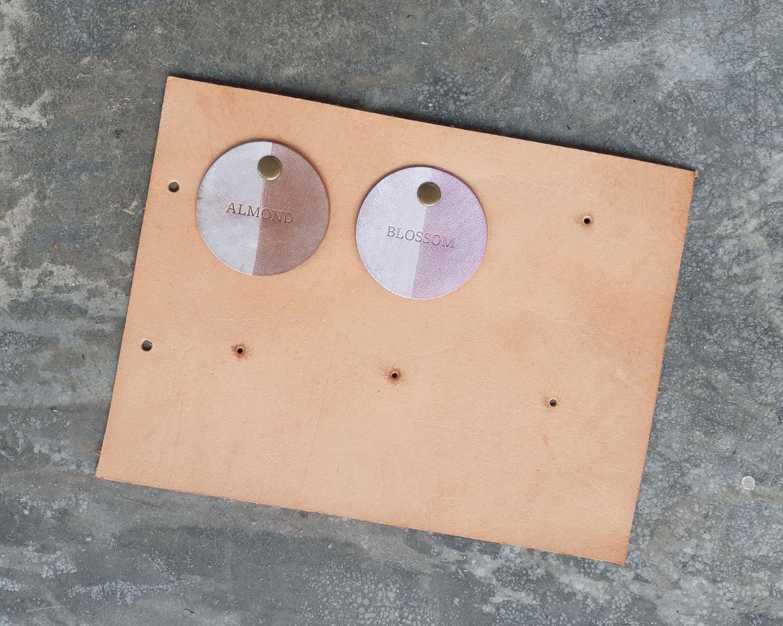擦蠟系列-意大利植鞣牛皮 1,0mm-1,2mm