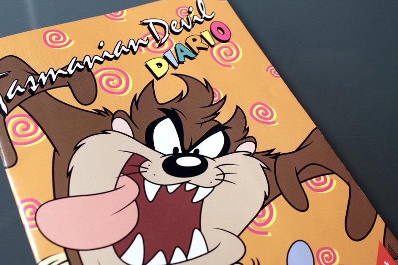 Tasmanian Devil - diario scolastico