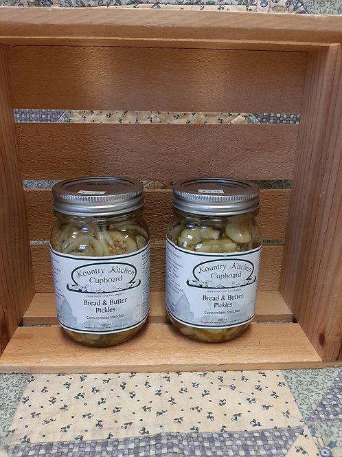 Bread & Butter Pickles - Kountry Kitchen Cupboard (500ml)
