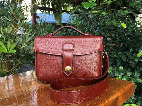 Box Bag in Whisky