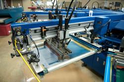 Screen printing carousel