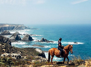 Can't get any better than this_#horses #trailride #dunes #costavicentina #cavalos #farol #