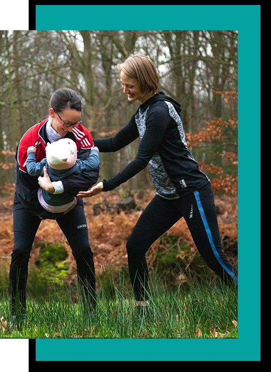 Power Mom training with Personal Trainer Melanie Cypko