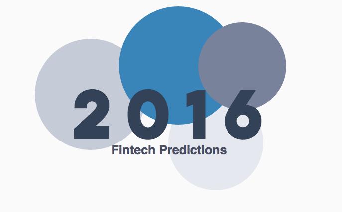2016 Fintech Predictions