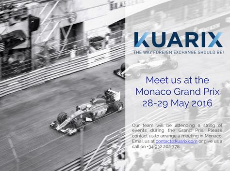 Meet us at the Grand Prix in Monaco!!