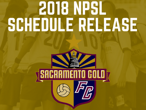 2018 NPSL Schedule Release
