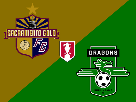 Gold to face Burlingame in First Round of U.S. Open Cup