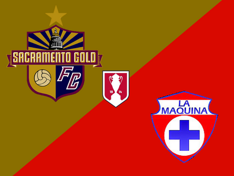 Gold to face La Máquina in Second Round of U.S. Open Cup