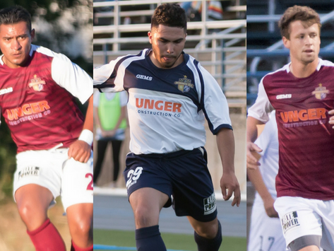 Gold Players Named to Golden Gate Conference Best XI