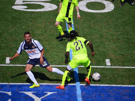 Gold, Spartans Battle to 1-1 Draw