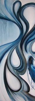 "triste  sadness oil on canvas 30x40"""