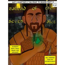 Borodon Comic Book Cover