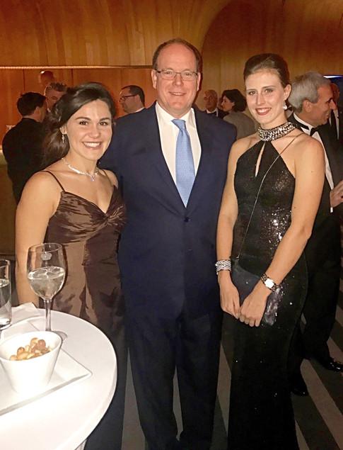 GALA UIM avec SAS le Prince Albert II de MONACO