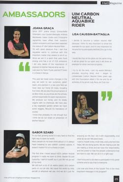 H2O Magazine 2019 Carbon Neutral