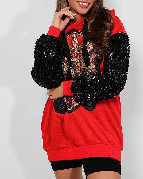 Red Lion King Sweatshirt