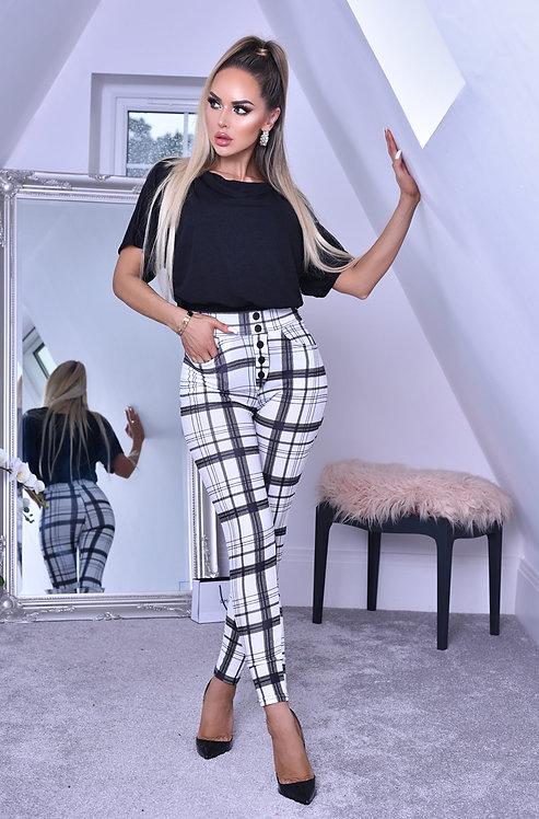Lottie Crepe Pocket Trousers