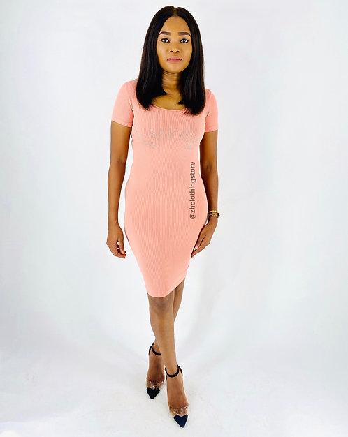 Crystal Pink Dress