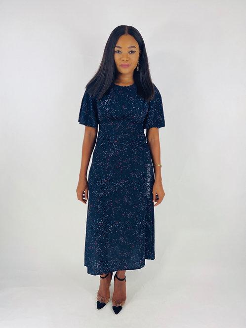 John Zack Stars Print Dress