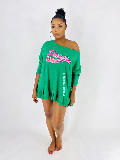 Green Paris Dress Shirt