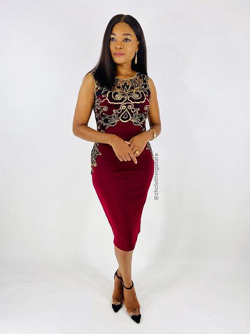 Kara Crochet Dress