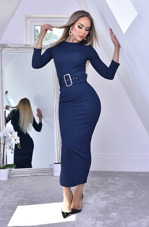 Eliana Belted Dress