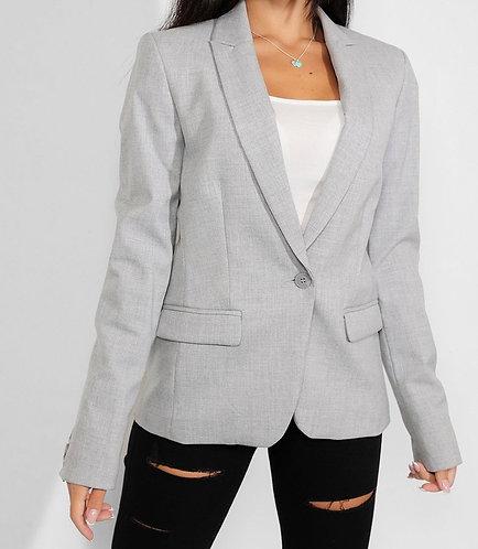 Grey Tailored Blazer