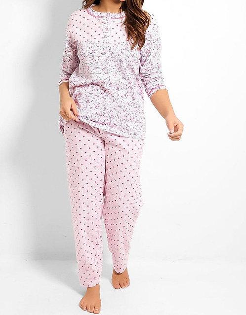 Pink Heart Pyjama Set