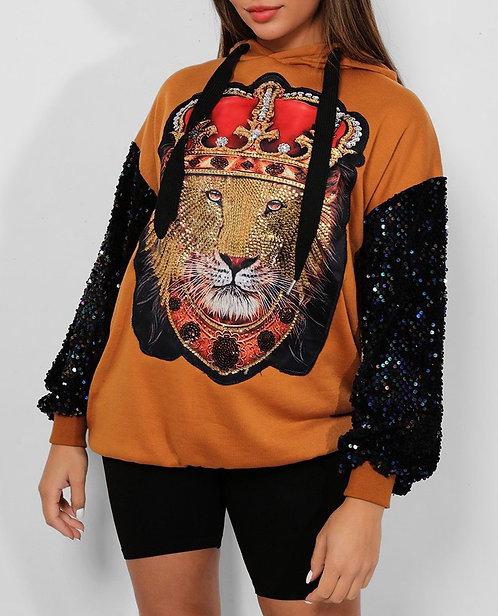 Camel Lion King Sweatshirt