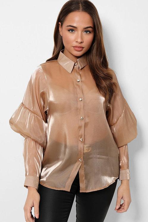 Tomike Shirt-Brown