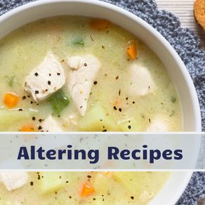 Altering Recipes for the Thermal Cooker