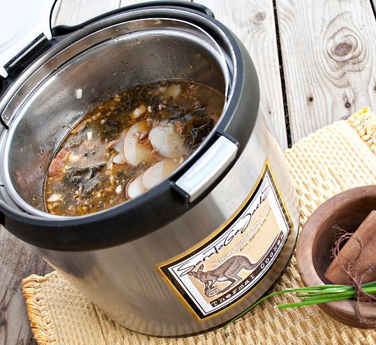 Italian Wedding Soup in a Thermal Cooker
