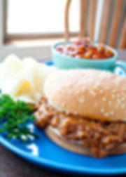 Thermal Cooking Baked Beans and Sloppy Joes