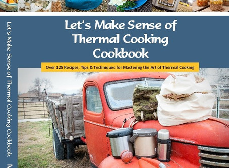 The Book! The Thermal Cooking Cookbook!