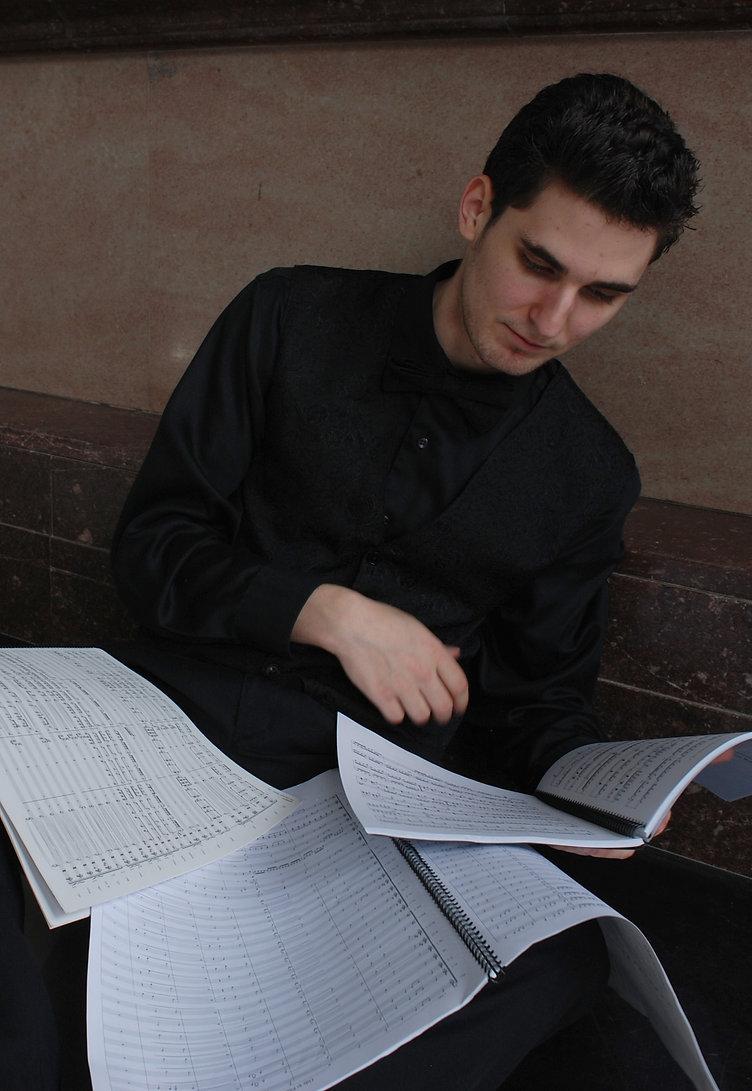 Browsing through scores by John Williams