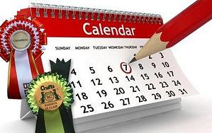 Dog Championship Show Calendar